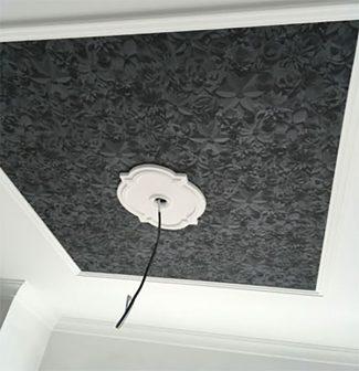 Malerarbeit Decke