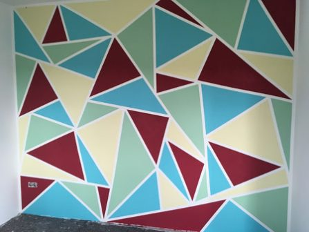 Malerarbeiten - Wandgestaltung