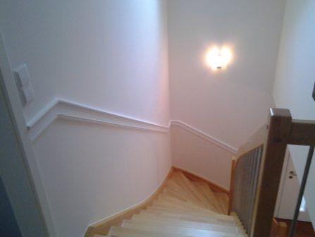 Malerarbeiten - Treppenaufgang